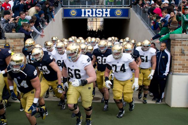 Notre Dame Football: Irish Will Find It Difficult to Repeat Last Year's Success