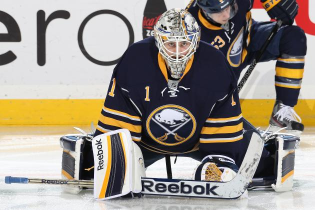 Buffalo Sabres Re-Sign Jhonas Enroth to 2-Year Extension