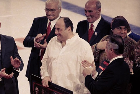 New York Rangers Remember the Actor James Gandolfini