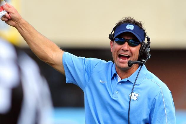 UNC Coach Larry Fedora Talks 2013