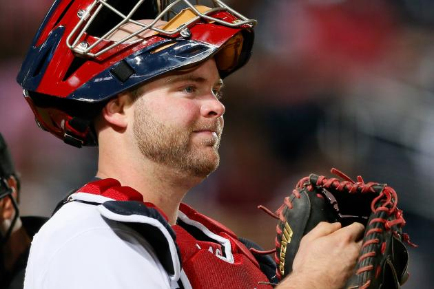 Uggla and McCann out vs. Mets