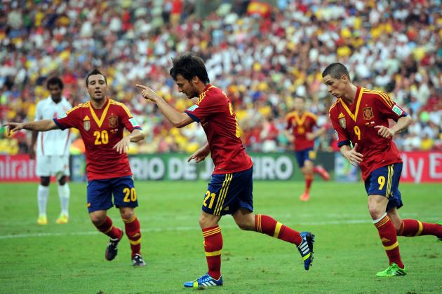 Spain vs. Tahiti: Score, Grades and Post-Match Reaction