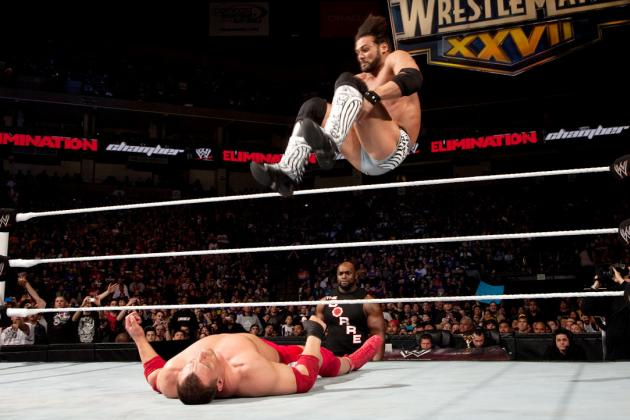 Justin Gabriel Needs to Win More WWE Matches so We Can See More of His Finisher