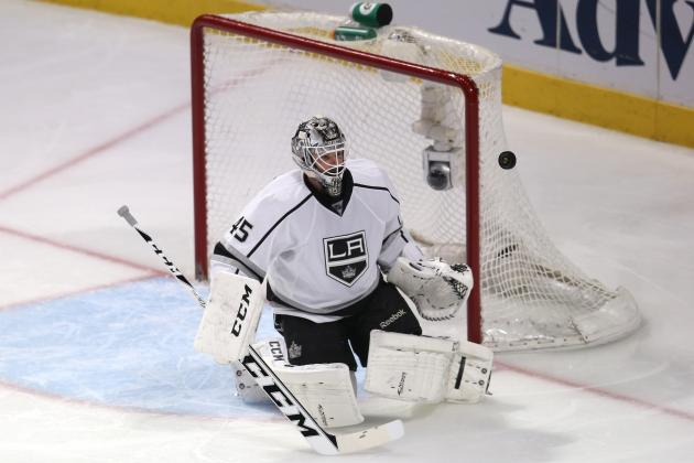 Report: Los Angeles Kings Could Be Willing to Trade Jonathan Bernier