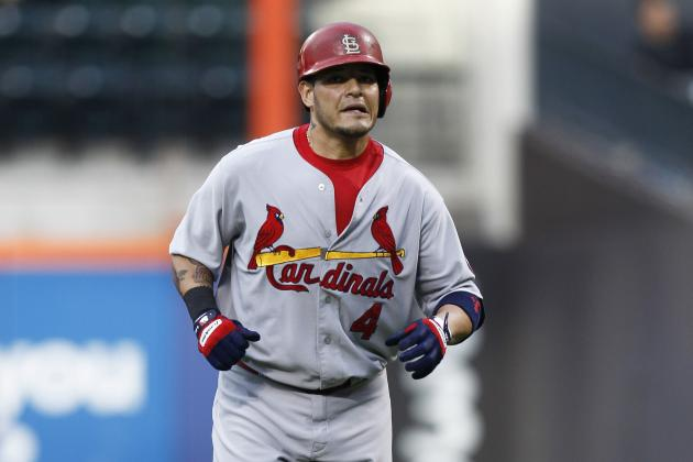 Carpenter Calls Yadier Molina 'a Joke' —on the Rest of the League