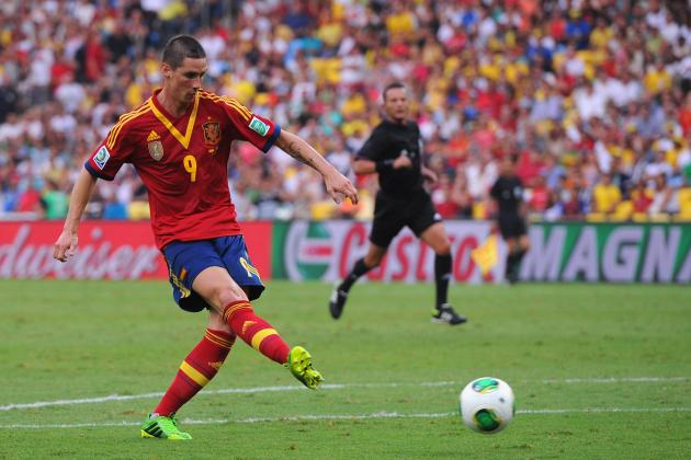 Fernando Torres' Record Outing vs. Tahiti Sends Message to Chelsea