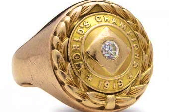 Extremely Rare 1919 World Series Ring Goes to Auction