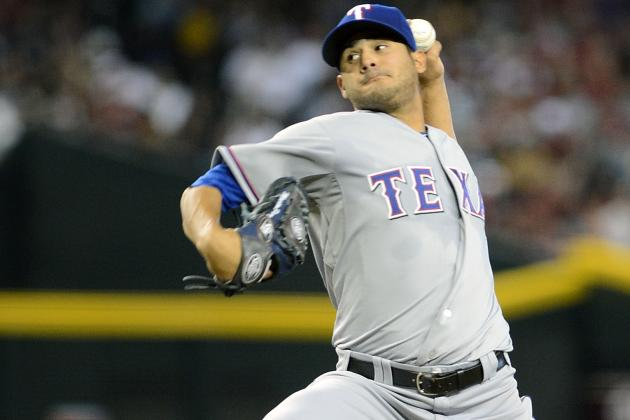 Martin Perez to Start Saturday; Yu Darvish Pushed Back to Tuesday