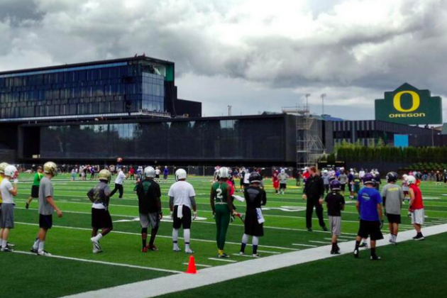Photo: Oregon'S New Practice Fields Are Ready to Use