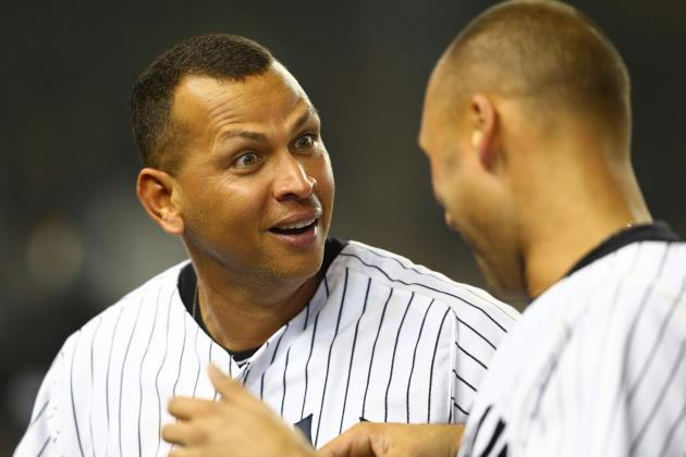 New York Yankees Injuries: Alex Rodriguez Closer to Returning Than Derek Jeter