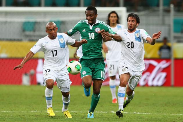 Nigeria vs. Uruguay Confederations Cup Live Blog: Forlan wins it for Sky Blues
