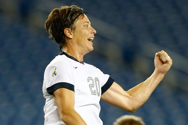 Wambach Scores to Tie Mia Hamm's All-Time Mark