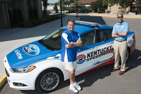 Kentucky Coach John Calipari Will Lead Quaker State 400 in Pace Car