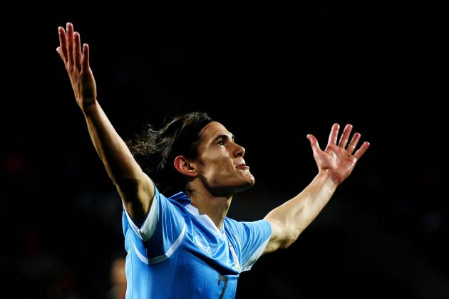 Edinson Cavani Watch: How Did the Chelsea Target Fare vs. Nigeria?