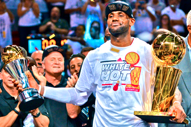 LeBron James Answers Every Question and Critic in Heat's Second Straight Title