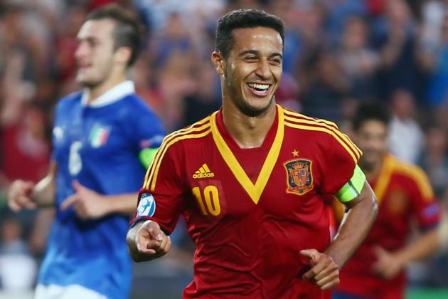 United Reportedly Near to Signing Thiago Alcantara for £17 Million