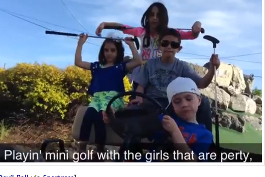 5-Year Old Golfing Rapper Loves Golf, Rapping [Video] | Big Lead Sports