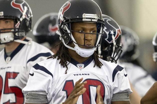 What Are Realistic Projections for Texans Wide Receiver DeAndre Hopkins?