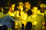 Heat Had an Epic Pizza Party at the Club with Drake