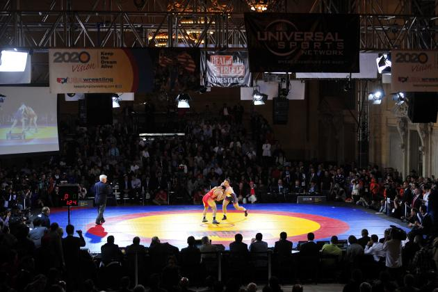 World Team Trials Latest Boost for Wrestling's Olympic Quest