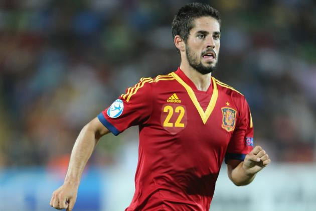 Madrid, Malaga Resume Isco Talks