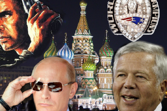 Putin Offers to Get Robert Kraft a New 'Expensive' Ring