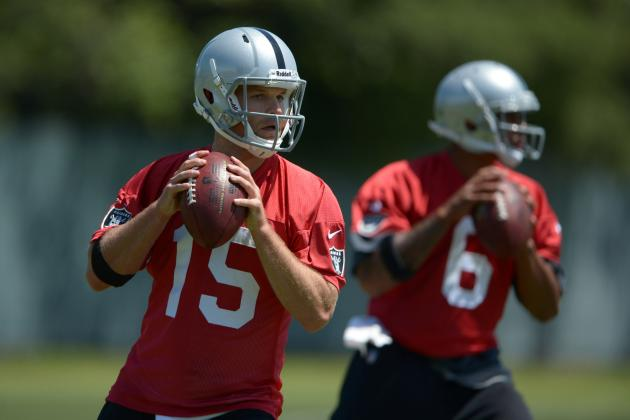 Reggie McKenzie disputes negative reports about Raiders quarterbacks