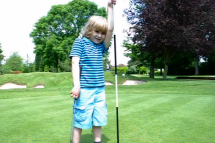 Six-Year-Old Golfer to Represent Great Britain in US