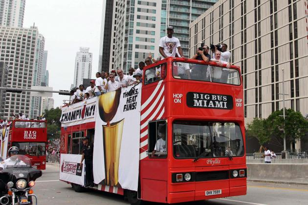 Miami Heat Parade: Best Way to Watch the Celebration on Monday