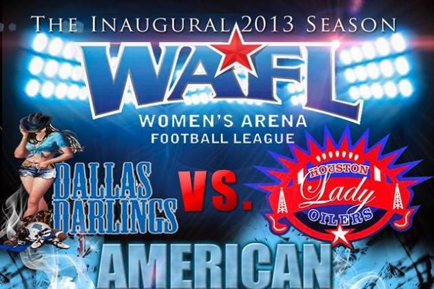 Women's Arena Football League Adds New Dimension to Expanding Female Game