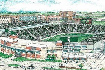 Michigan State Board of Trustees OKs $24.5 Million Spartan Stadium