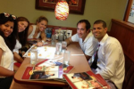 Shane Battier Celebrates NBA Title... at Denny's