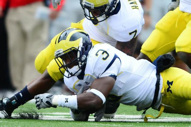Wolverines' Marvin Robinson Transfers to Ferris State