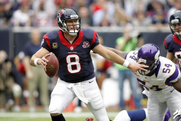 Houston Texans Conspiracy Theory:  Was Matt Schaub Injured Last Season?