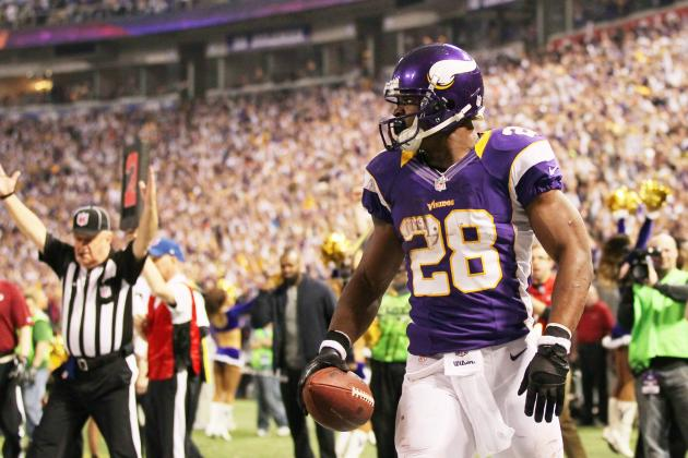 Fantasy Football: Why Minnesota Vikings RB Adrian Peterson Is The Best 1st Pick