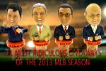 Most Ridiculous Giveaways of the 2013 MLB Season
