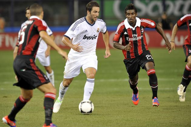 Gonzalo Higuain Exactly What Arsenal Needs to Compete for EPL Title