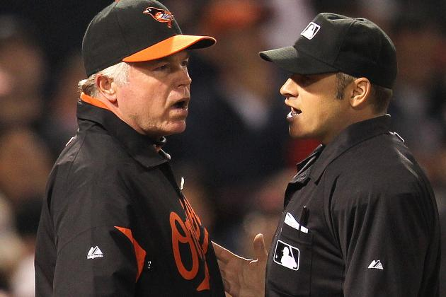 HP Umpire Ejects Buck Showalter