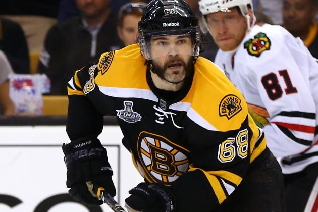 Jagr's Career Coming Full-Circle in Boston