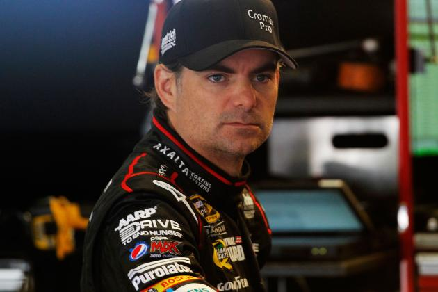 Jeff Gordon Facing a Potential Must Win This Weekend in Sonoma