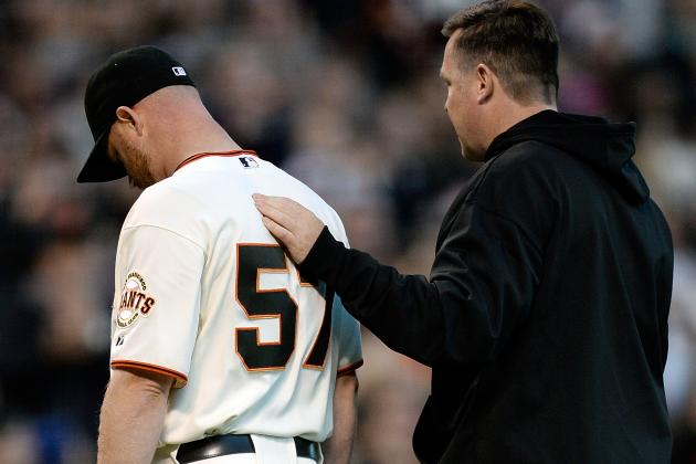 Pregame Notes: Gaudin Hurts All Over, Bochy Sticks with Affeldt, Etc.