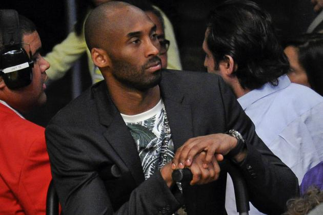 Kobe Consulted with David Beckham on Achilles, Says He's 'Pretty Encouraged'