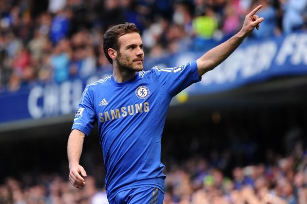 Chelsea Transfer Rumor: Trashing the Idea of Juan Mata to Barcelona