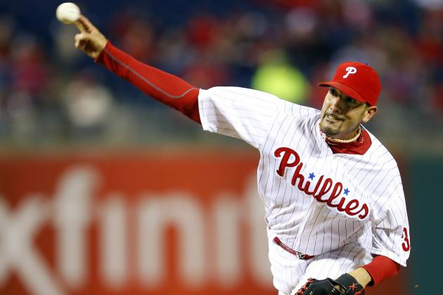 Phillies Place Mike Adams on 15-Day DL