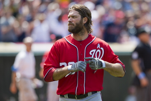 Werth Scratched -- Revised Nats Lineup