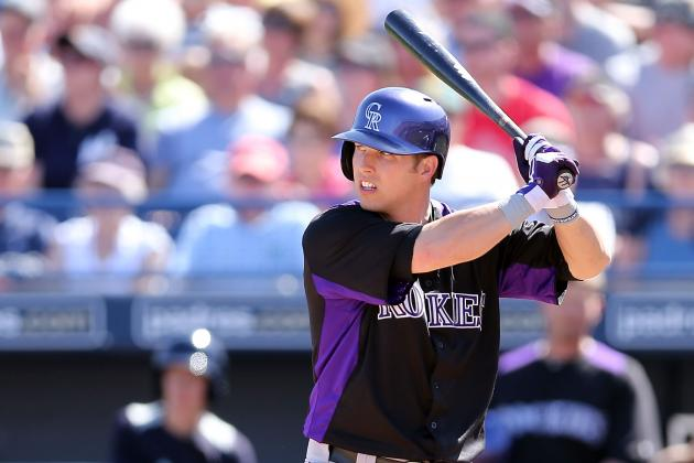Corey Dickerson Making Debut vs. Nats, Todd Helton Sitting