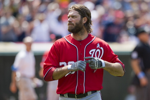 Jayson Werth Scratched from Nationals Lineup
