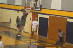 Video: Eagles Play Basketball
