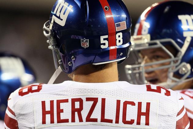 Herzlich Confident He Can Start at Middle Linebacker for Giants