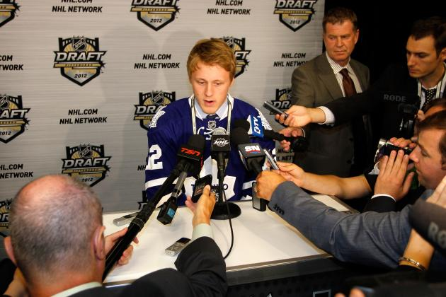 NHL Draft 2013: How the Toronto Maple Leafs Should Approach the Early Rounds